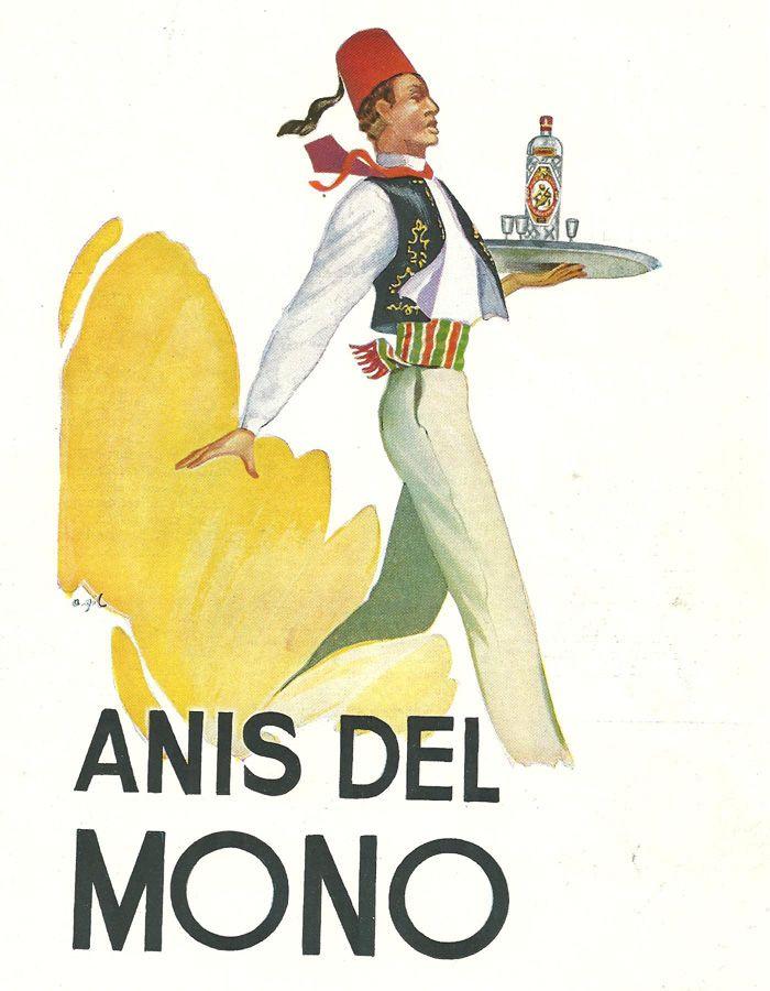 Cartellisme publicitari, 1956 - Anis del Mono