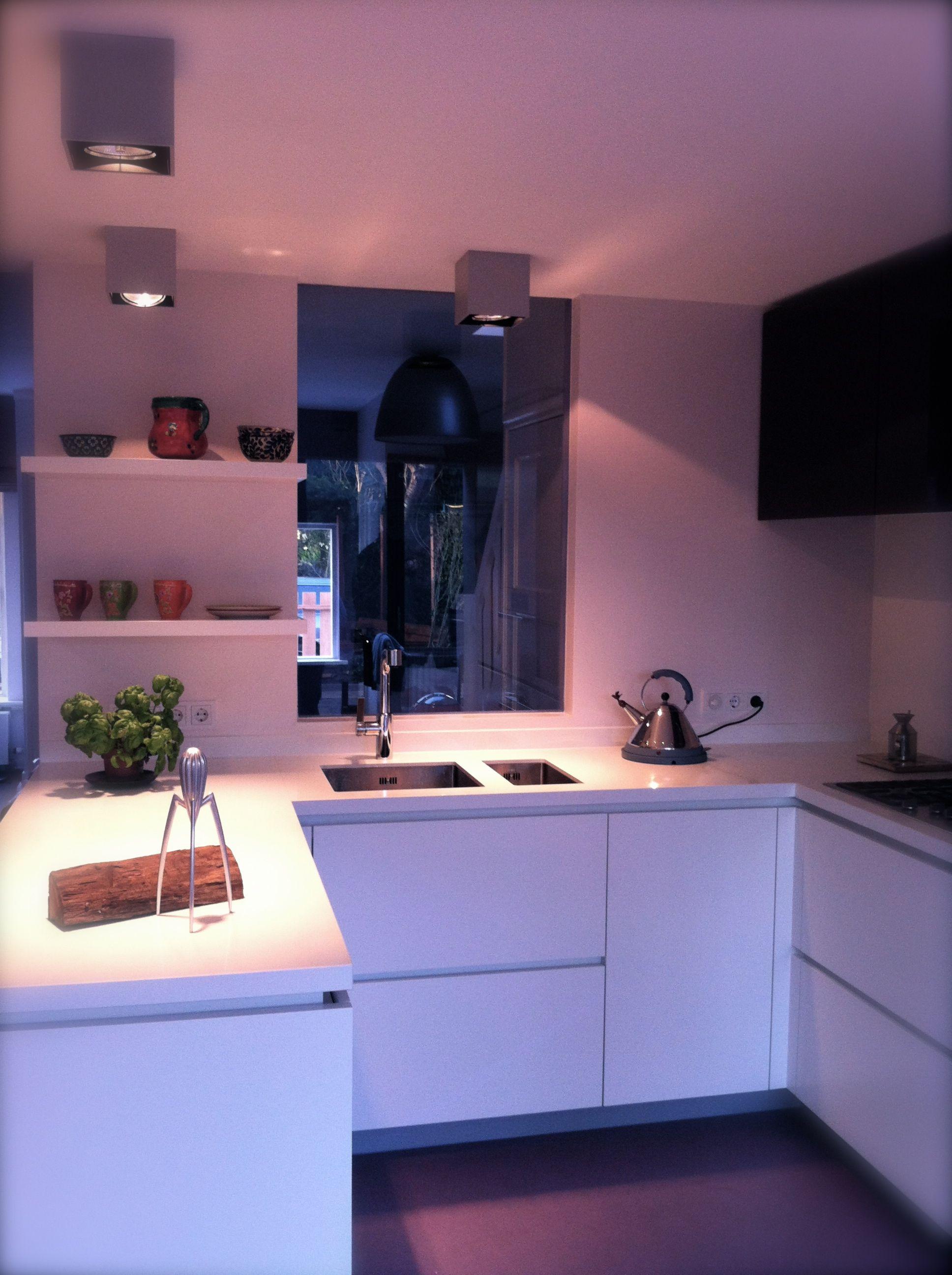 Una buena cocina una escogida iluminación y complementos un