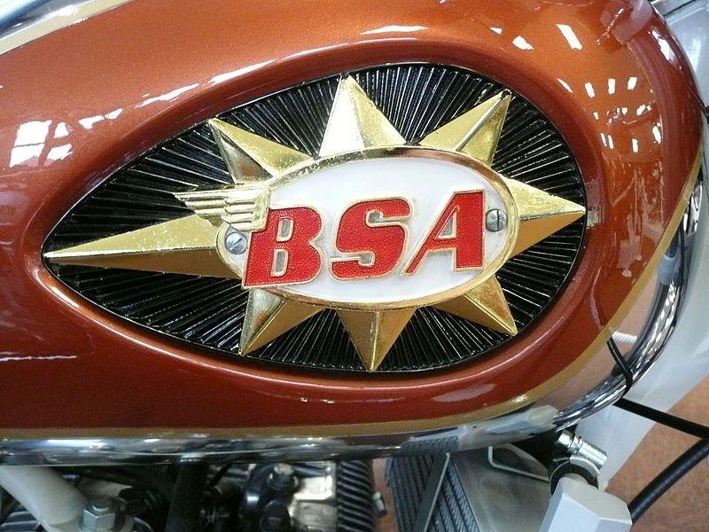 Bsa Motorcycle Badge Bsa Motorcycle Motorcycle Tank Classic Bikes