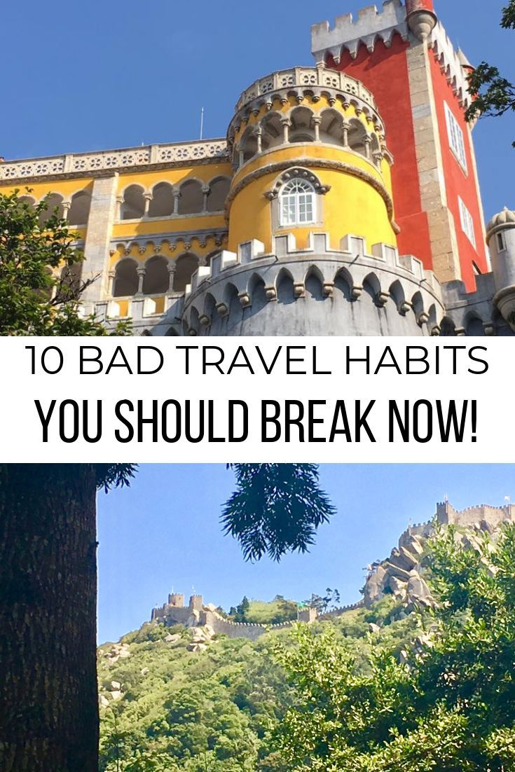We all fall into bad habits from time to time. Click the pin to see 10 bad travel habits that I'm planning on stopping so I can enjoy my trips more! Brought to you by Where I've Been #traveltips #travelhacks #travel #travelplanning
