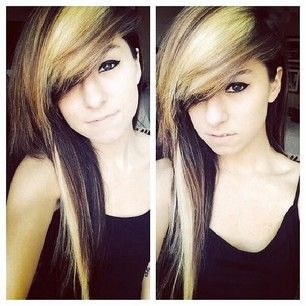 Christina Grimmie! This hair is so pretty and unique I could NEVER pull it off the way she does!!