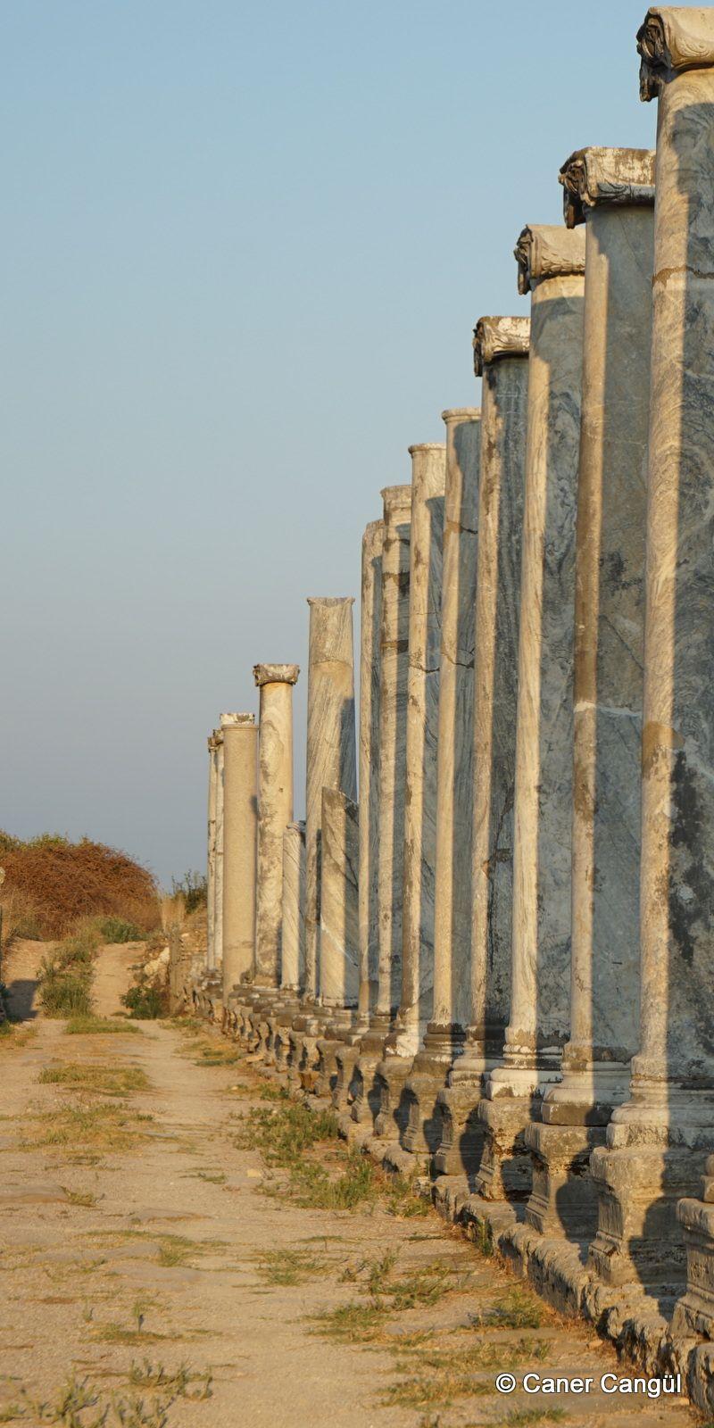 Perge Antik Kenti Fotograflari Caner Cangul Fotograflari Seyahat Arkeoloji Anti Ka