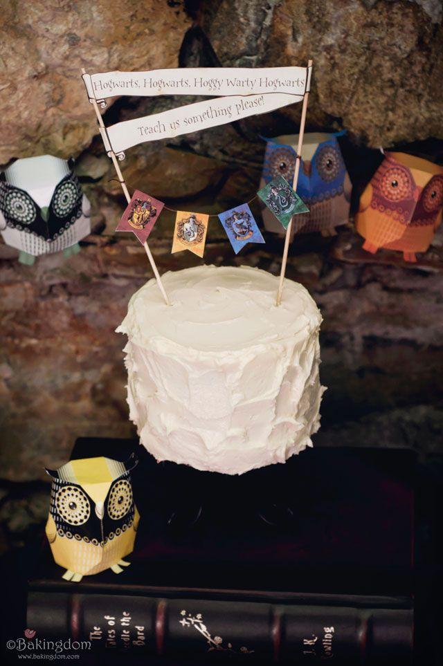 Hogwarts, Hogwarts, Hoggy Warty Hogwarts Cake