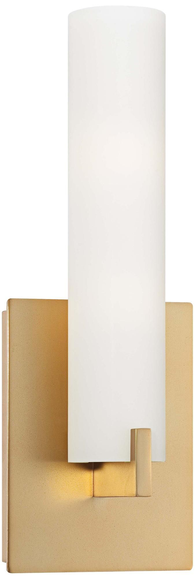 George Kovacs 13 1/4 High ADA Compliant Gold Wall Sconce -