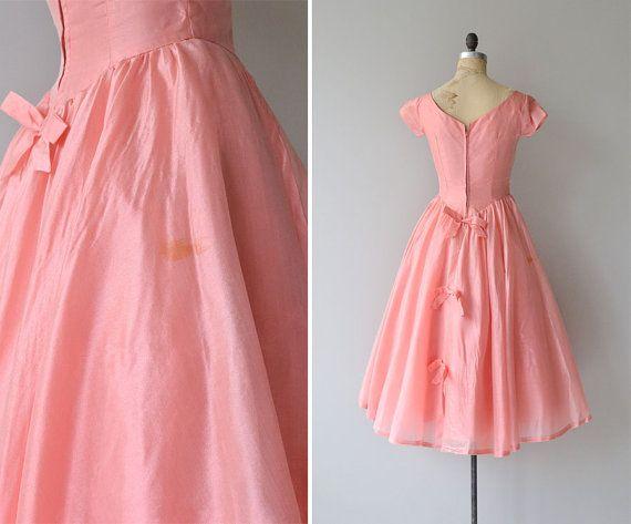Taffy Kleid zog 1950er Jahre Partykleid Vintage von DearGolden | 50s ...