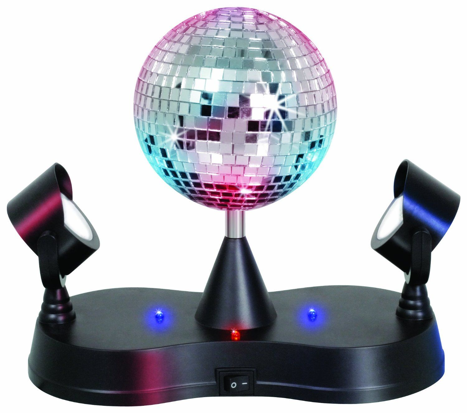 Lumisource LS MIR MADNESS Energy Saving Mirror Disco Ball Strobe