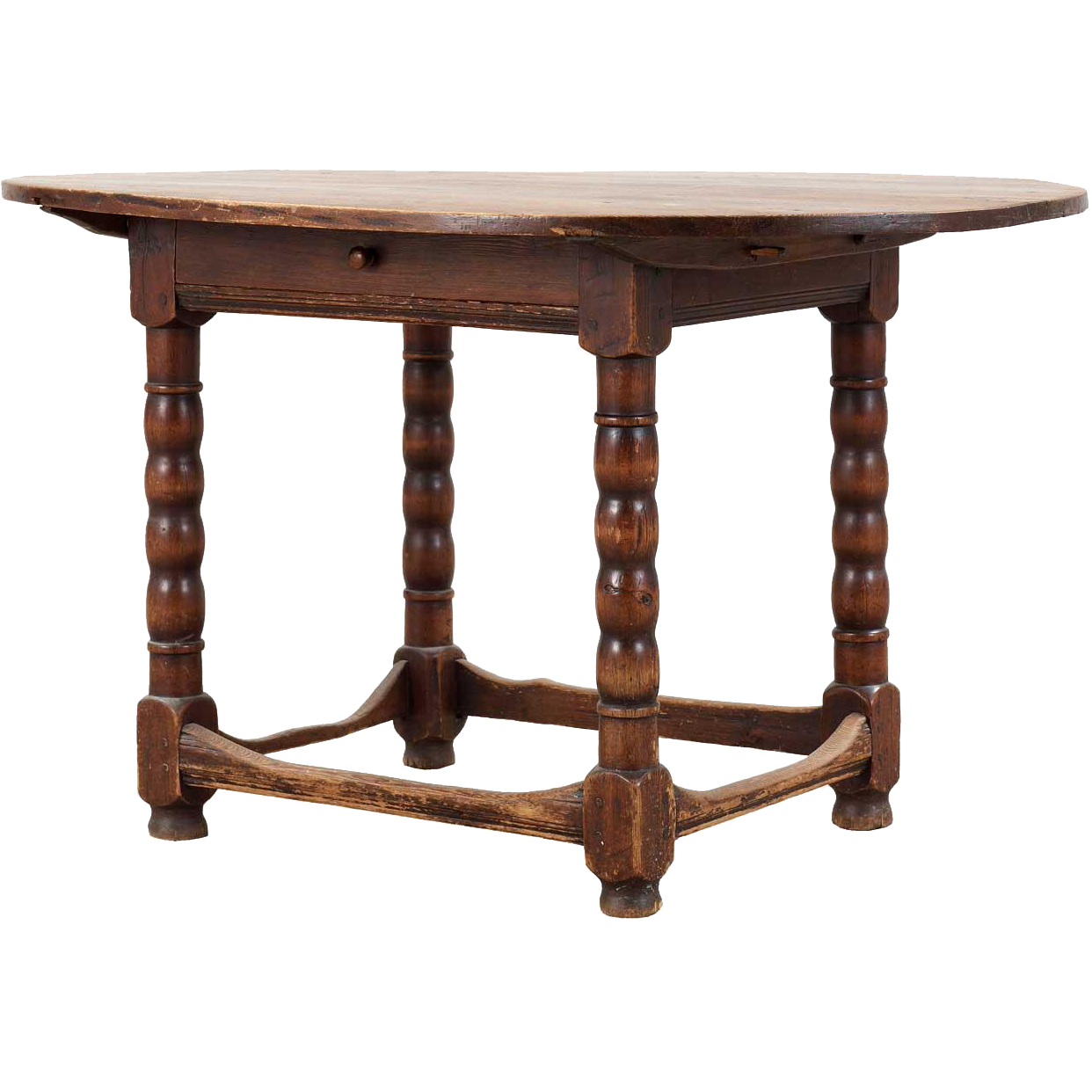 Swedish Baroque Pine Oval Table Oval Table Vintage Table Table
