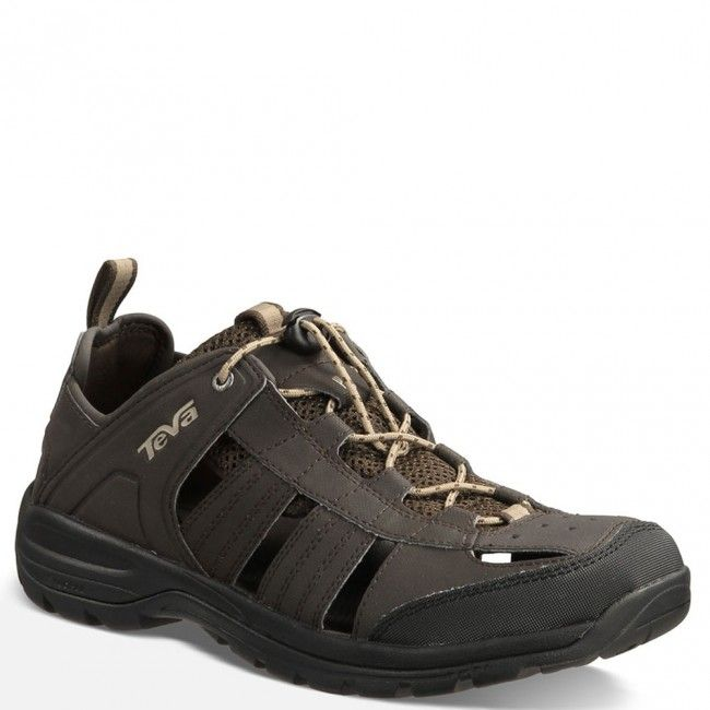 1006906-BLKO Teva Men's Kitling Sandals - Black Olive www.bootbay.com