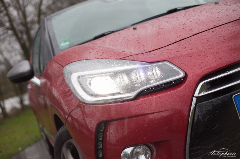 New (Citroen) DS 3 has something new in the lights departement