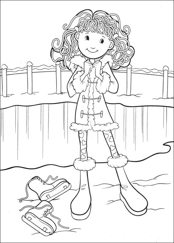Groovy Girls Coloring Pages 37   Coloring pages for kids   Pinterest ...