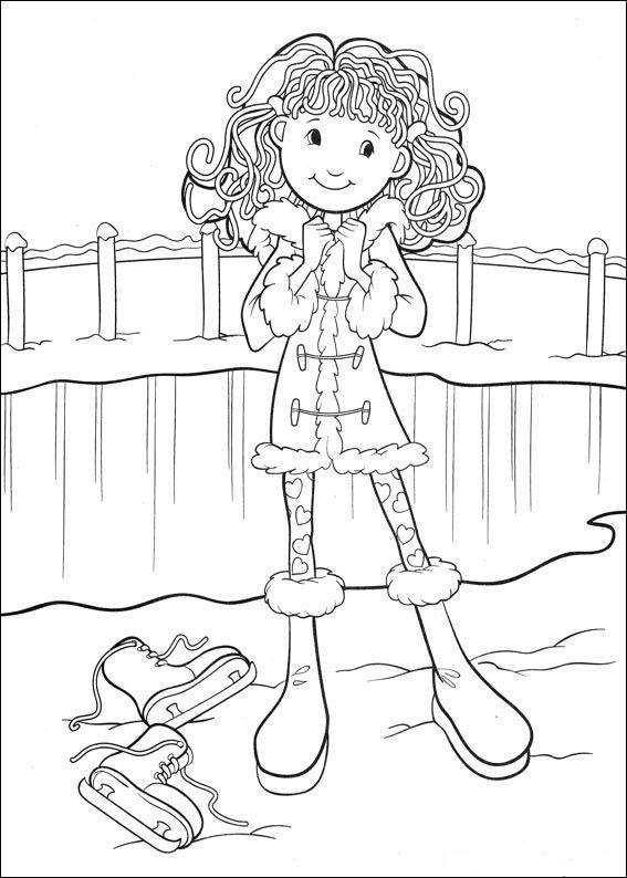 Groovy Girls Målarbilder för barn. Teckningar online till skriv ut. Nº 37