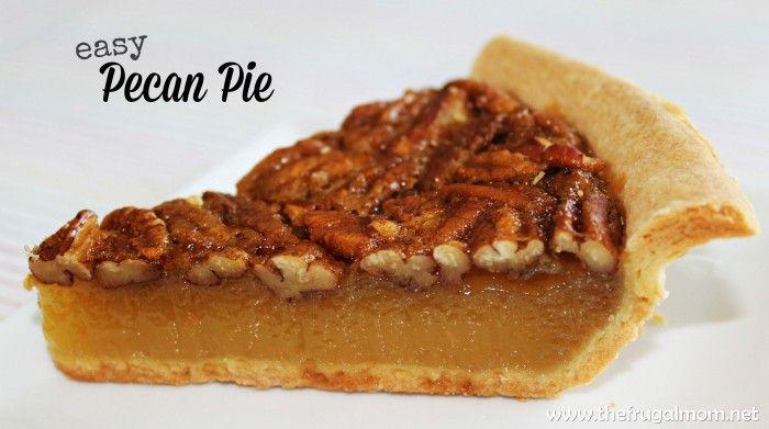 An Easy Pecan Pie Recipe The Entire Family Will Enjoy - #dessert #pecanpie #delish #pecanpie