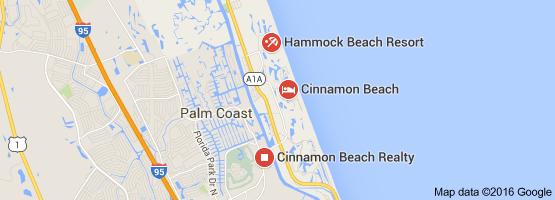 Map Of Things To Do In Cinnamon Beach Florida Sea Gl Beaches