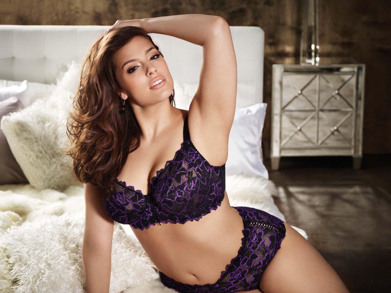F is for femme fatale addition elle lingerie plus size bras panties sexy ashley graham - Bras tatoue femme ...