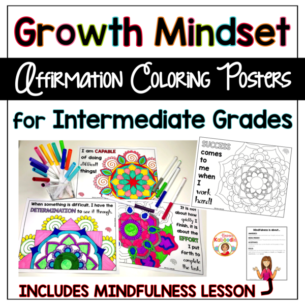 If You Re Looking For A Meaningful Way To Help Students Internalize Positive Growth Mindset Affir Growth Mindset Growth Mindset Teachers Growth Mindset Posters