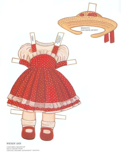 Algunas muñecas recortables | El blog de Las Cosas de Mami