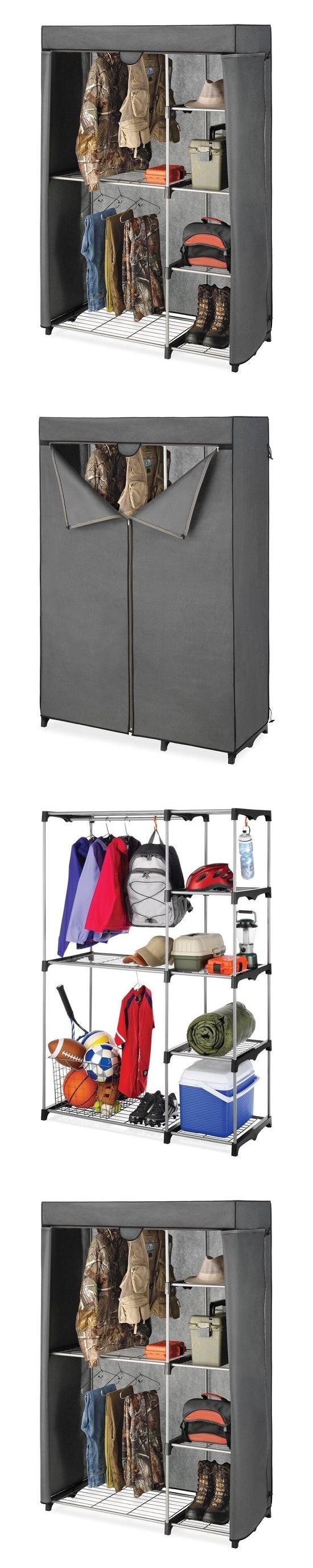 Closet organizers portable closet wardrobe utility organizer