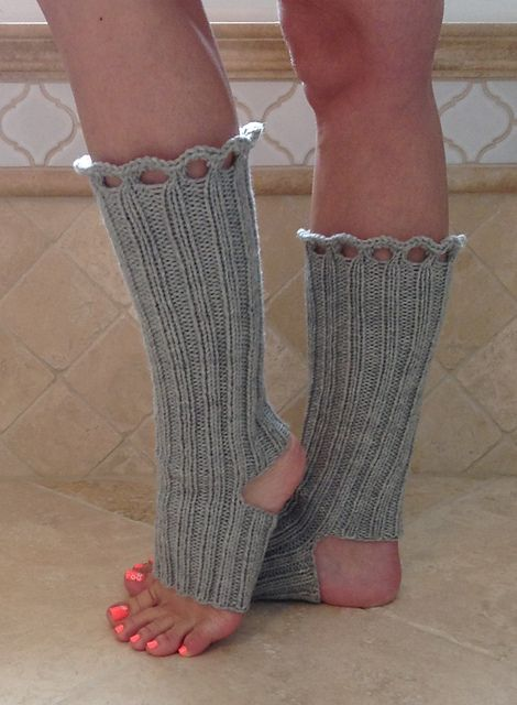 Double Duty Yoga Socks/ Boot Toppers by me! Free pattern ...