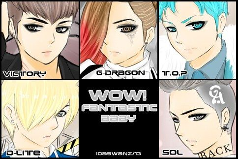 BIG BANG:Fantastic Baby by IDASWANZ.deviantart.com on @deviantART