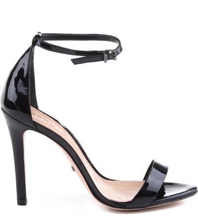 0738ce19c Sapato Feminino Scarpin · Sandália Gisele Verniz Black | Schutz Sandália  Salto Fino, Sapatos Pretos, Sapatos Sandálias,