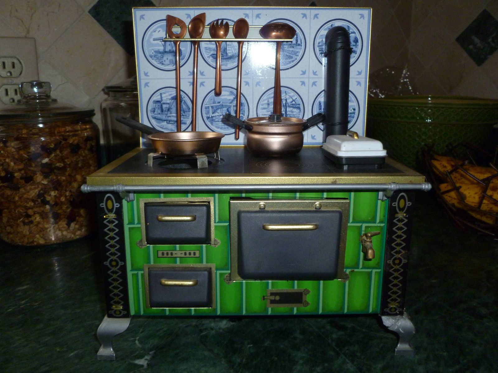 Retro Kitchen Stoves Tuscan Style Vintage Toy Stove Little Pinterest