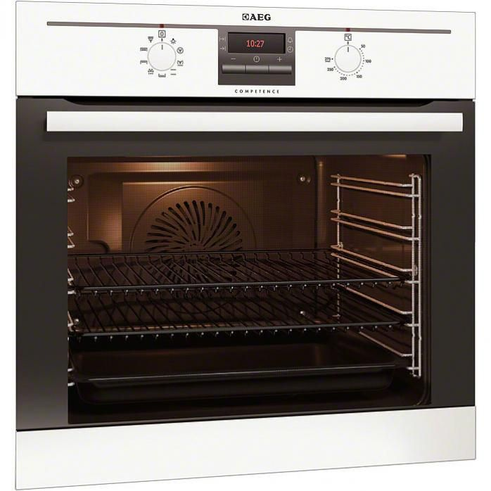 AEG Oven Electric Single Oven Built In Stainless Steel Electric Fuel Fits  Into A High X Wide Kitchen Cabinet Fits Into A Wide Gap Beneath Your Kitchen  Top ...