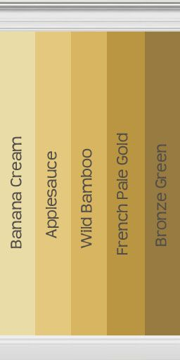 Mod The Sims Collection Of Gold Walls Inspired By Behr