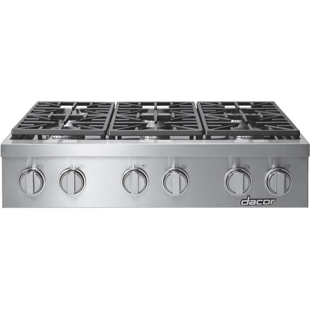 Dacor Heritage 36 Built In Gas Cooktop Stainless Steel Food Preparation Stainless Steel Appliances Stainless Steel