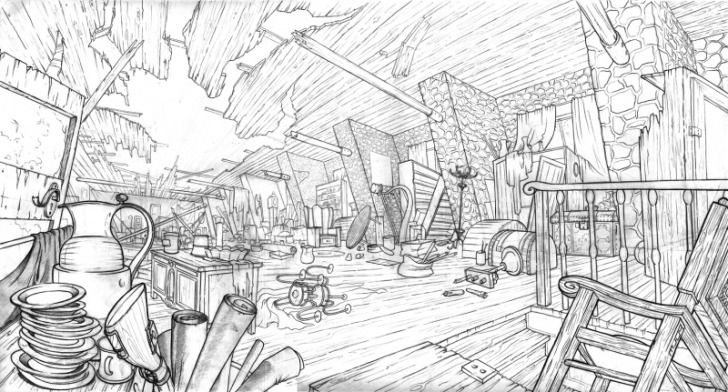 Layout Environment Concept Art Concept Art Drawing Animation Sketches
