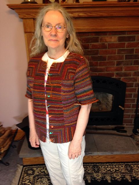 Ravelry: Project Gallery for Mitered Cardigan pattern by Elizabeth ...