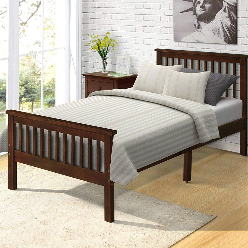 Seeley Twin Platform Bed Bed Frame And Headboard Wood Platform Bed Frame Twin Platform Bed