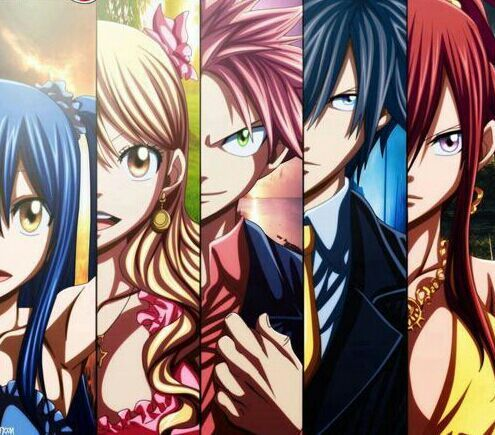 You Can Actually See Their Eye Color Fairy Tail Anime Fairy Tail Photos Read Fairy Tail