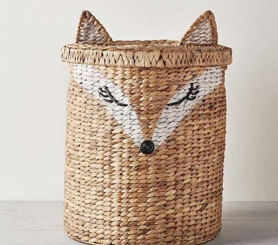 Shaped Fox Storage With Images Storage Kids Room