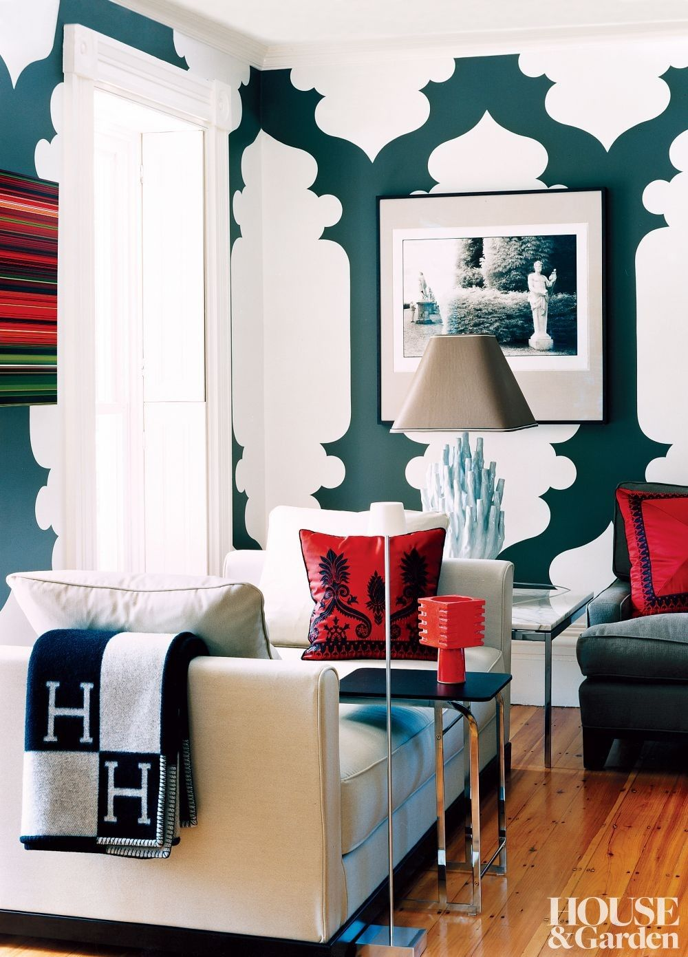 Pin On Living Rooms #red #and #turquoise #living #room
