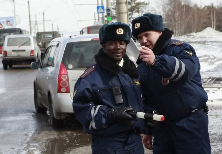 Of The Russian Police Force