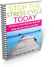 50 stress relieving tips that will help you de-stress  your life. www.LessStress-MoreSuccess.com