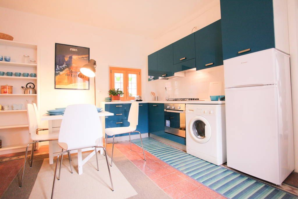 Apartment in Verona, Italy. Unique solution in building of
