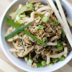Fiery Dan Dan Noodles by Jamie Oliver...super easy and worth whipping up!