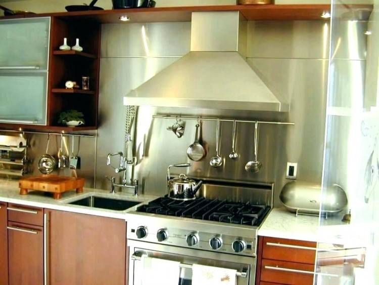 Stainless Backsplash Panel Designs Backsplash Designs In 2019