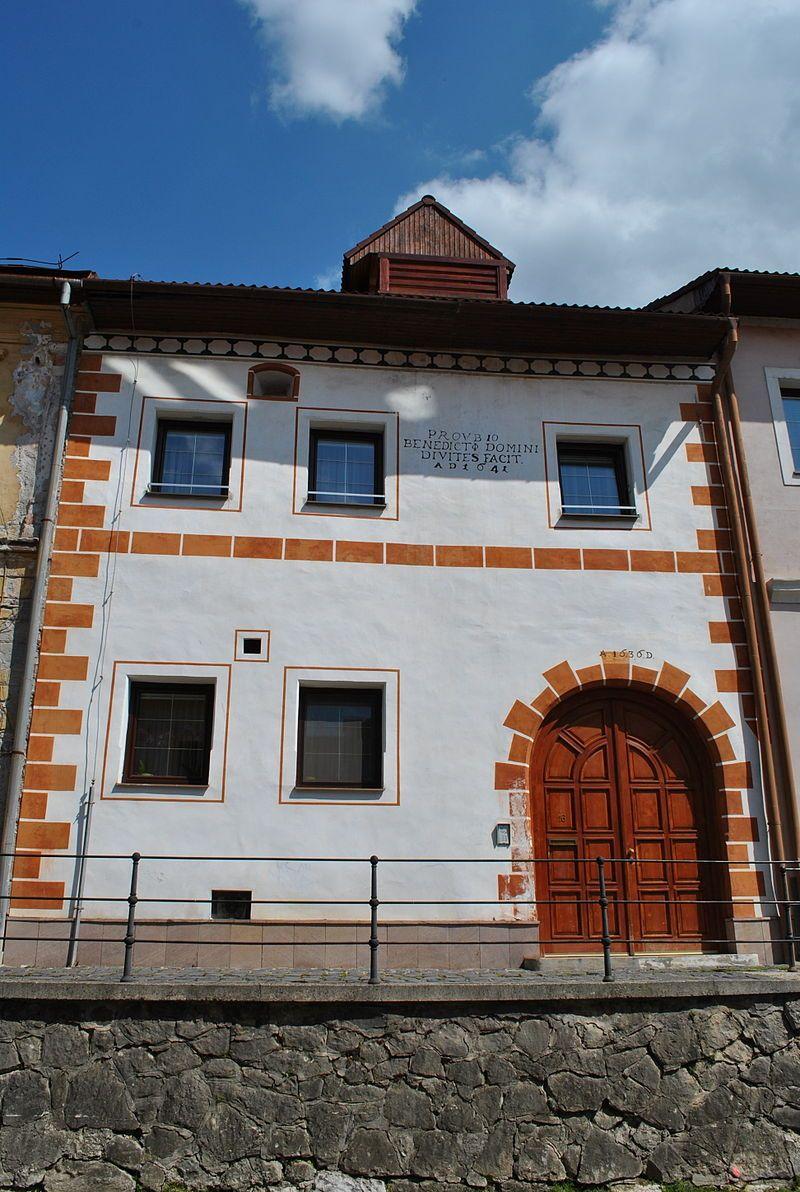 Banská Bystrica - Horná strieborná ul. č. 16 - 18. 4. 2014 - Zoznam kultúrnych pamiatok v Banskej Bystrici (0–K) – Wikipédia
