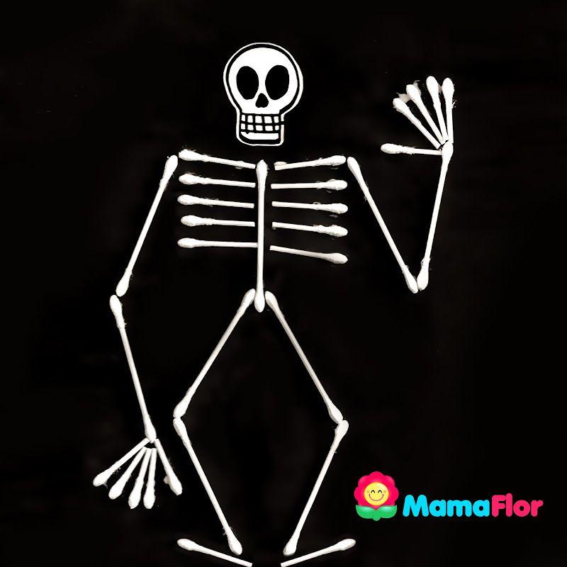 Como Hacer Maqueta Del Sistema óseo Esqueleto Humano Para Niños Sistema Oseo Sistema Oseo Maqueta