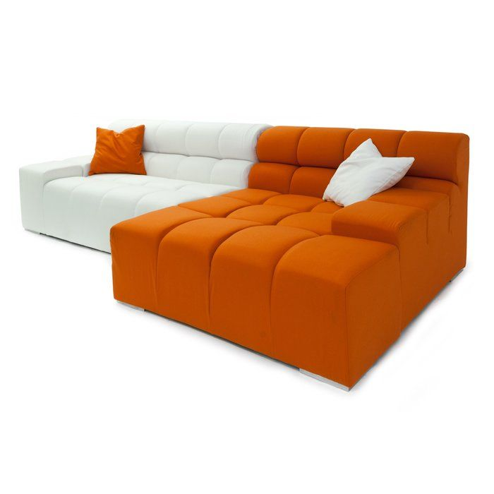 Cubix Left Hand Facing Sectional & Reviews | AllModern ... Importers of quality mid century reproductions.