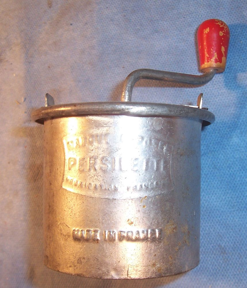 Details About Antique Vintage Primitive Kitchen Metal Garlic Spice Cheese Grater Grinder Grater French Cheese Cheese