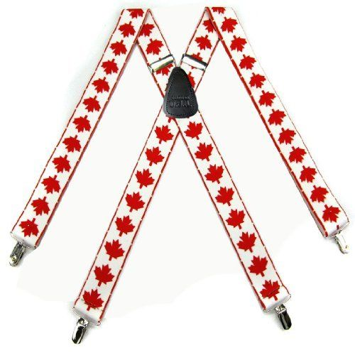 Custom American Flag Dont Tread On Me Red White /& Blue Leather Suspenders
