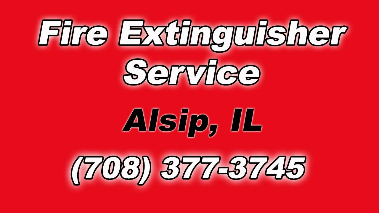 Alsip IL Fire Extinguisher Service for Local Businesses
