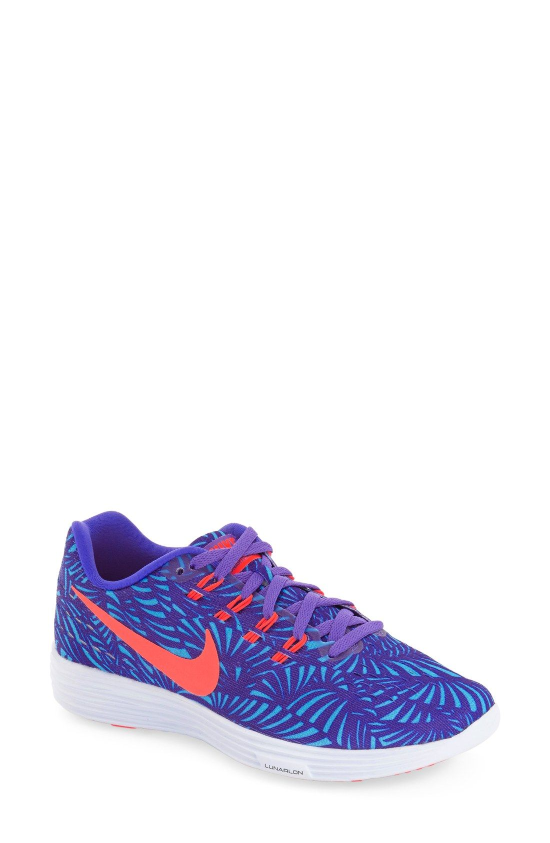 timeless design 44e35 f97e1 Staying active with these bold and colorful Nike running shoes.
