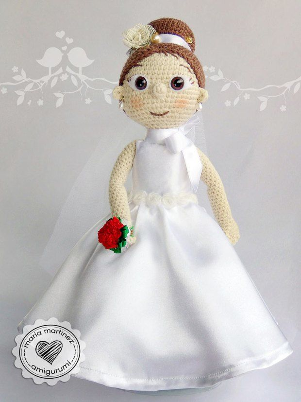 Novios Crochet Patron Gratis Maria Martinez Amigurumi ...