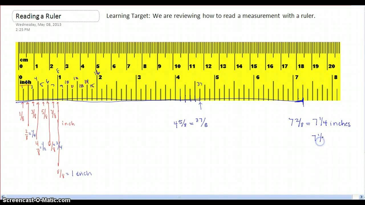 How To Read Measurements On A Ruler Amazon Bedding Ruler All Clad