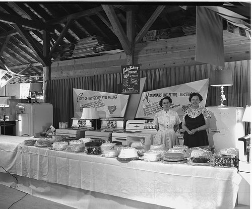Montana Power Booth at Madison County Fair (1955)