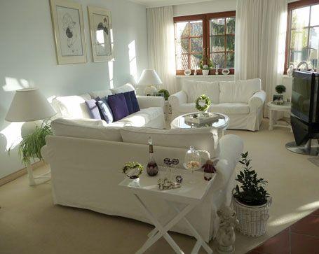 So Richten Sie Ihr Wohnzimmer Gemütlich Ein: Blick Ins Weiße Wohnzimmer    Wohnen U0026 Garten